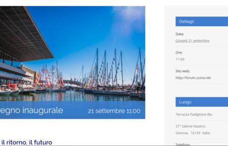 Sito web prenotazione eventi