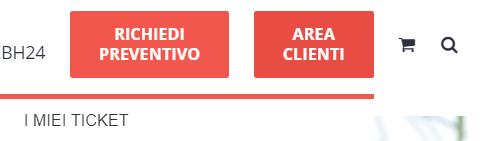 1clicca su area clienti web